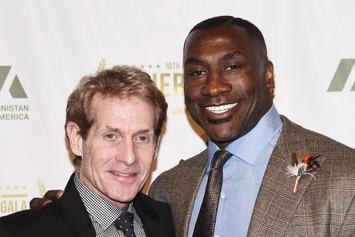 Skip Bayless Shocks Shannon Sharpe By Finally Forgiving Kawhi Leonard: Watch