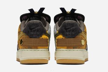 Travis Scott x Nike Air Force 1 Low Release Date Revealed: Official Photos