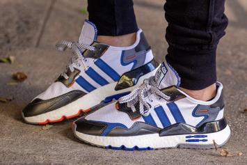 """Star Wars x Adidas Nite Jogger """"R2-D2"""" Drops This Month: On Foot Images"""
