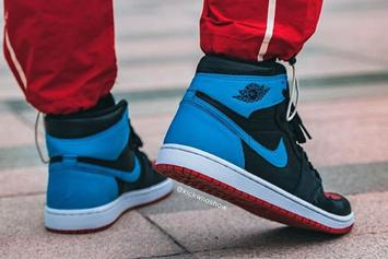 """Air Jordan 1 High OG """"UNC To Chicago"""" Coming Soon: On-Foot Photos"""
