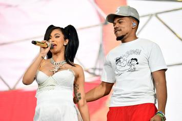 "Cardi B & Chance The Rapper Have Opposite Reactions To Their ""Mean Tweets"""