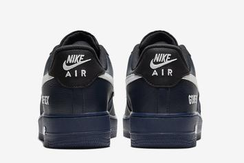 Nike Air Force 1 Low Gore-Tex Dropping In Navy Colorway: Official Images