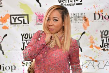 Tiny Harris Uses Emojis To Respond To T.I. & Daughter's Virginity Controversy