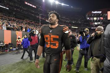 Myles Garrett Fight Leads To Lengthy & Uncertain NFL Suspension