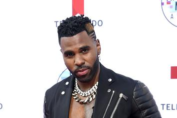 "Jason Derulo Posts Thirst Trap Showing Off His ""Anaconda"""