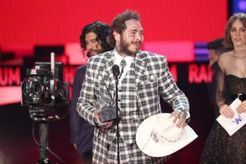 Post Malone Winning 'Best Rap Album' At AMA's Has Twitter Fuming