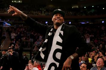"""Carmelo Anthony Dismisses Notion He's On A """"Farewell Tour"""""""