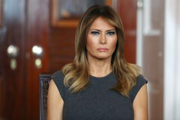 Melania Trump Gets Booed By Crowd Of Baltimore Students During Speech On Opioids
