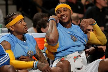 Allen Iverson Expresses Anger Over Carmelo Anthony Treatment