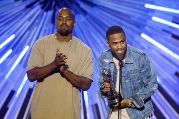 """Kanye West & Big Sean Are """"Locked & Loaded"""" During Studio Session"""
