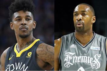 Nick Young Says Gilbert Arenas Shot Him With BB Gun During Team Meeting