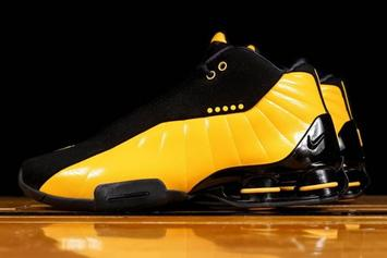 Nike Shox BB4 Bounces Back In Slick Steelers-Themed Colorway: Release Info