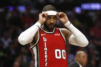 """Carmelo Anthony Calls Criticism Over Winning Player of the Week """"Bullshit"""""""