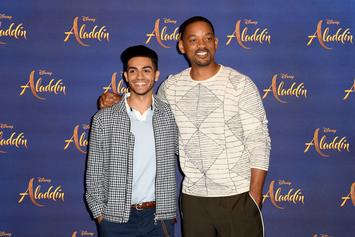 """Will Smith Praises """"Aladdin"""" Star Mena Massoud After He Says He Can't Get Auditions"""
