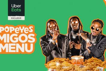 "Popeyes & Migos Team Up To Launch Exclusive ""Migos Menu"" With Uber Eats"