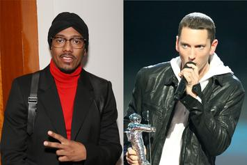 """Nick Cannon Mocks Eminem In Diss Response: """"Get Out Your Wheelchair"""""""