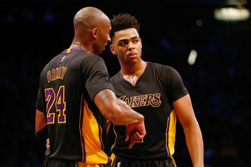 """Kobe Bryant & Byron Scott Were """"Frustrated"""" By D'Angelo Russell's Work Ethic"""
