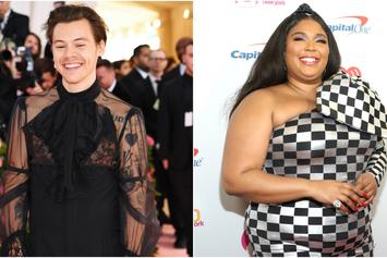 "Lizzo Approves Harry Style's Cover Of Her Hit ""Juice"""