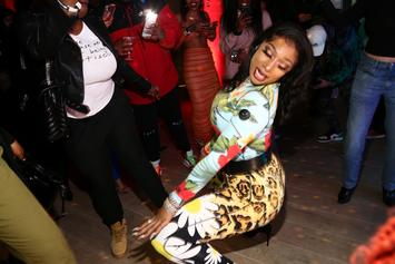 "Megan Thee Stallion Twerks Onstage To ""Sex Dreams,"" Showing Off Her Knees Of Steel"