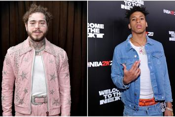 Post Malone & NLE Choppa Vibe Out To New Music In The Studio: Watch