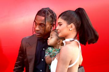 """Travis Scott Brings Stormi's Favourite """"Trolls"""" Character To Life For Christmas"""