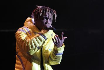 "Juice WRLD's ""Fire In The Booth"" Freestyle Is Here & It's Incredible"
