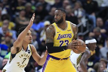 LeBron James Reacts To The Lakers' Four-Game Losing Streak