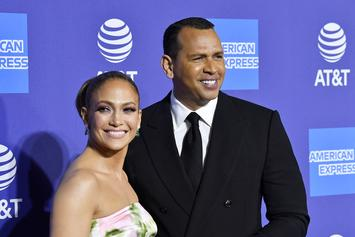 Jennifer Lopez Talks Super Bowl, Says A-Rod's Christmas Gift Made Her Cry