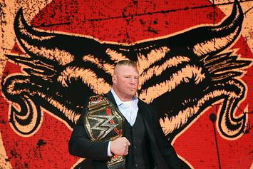 Brock Lesnar's Royal Rumble Plans Announced