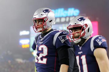 Tom Brady Hilariously Trolls Julian Edelman Over Recent Arrest
