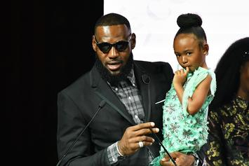 Lebron James Guest Stars In Adorable Video On Daughter Zhuri's Youtube Channel