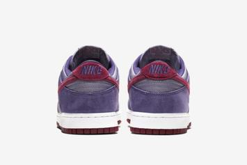"Nike SB Dunk Low ""Plum"" Returns For First Time Since 2001: Release Info"