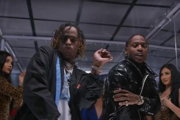 """Flipp Dinero & Rich The Kid Have A Message For Club Creepers With Their """"Looking At Me"""" Music Video"""