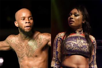 "Tory Lanez Grinds On Megan Thee Stallion's Booty & Realizes They're ""Evil Twins"""