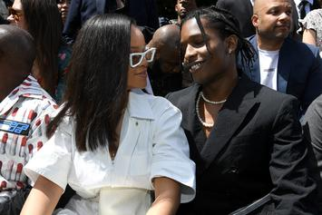 Rihanna & A$AP Rocky Reportedly Not Dating Despite Recent Romance Rumours