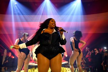"Lizzo Brings Out Harry Styles For Surprise Performance Of ""Juice"": Watch"