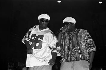 The Notorious B.I.G & Diddy's Vintage Vibe Magazine Signed Poster On Sale For $54K
