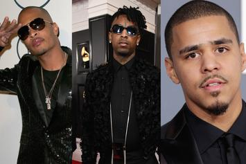 "T.I. Congratulates ""Kings"" 21 Savage & J. Cole On Their First GRAMMY Wins"
