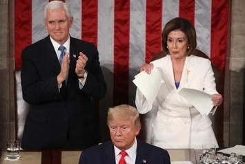 State Of The Union: Trump Snubs Pelosi So She Rips His Speech