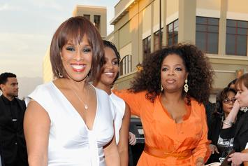 """Oprah Tearfully Says Gayle King's """"Not Doing Well"""" After Kobe Backlash"""