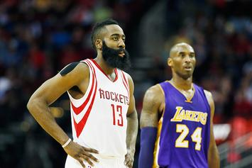 James Harden Honors Kobe Bryant With A Classic Reebok Question PE