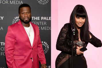 "Nicki Minaj Presses 50 Cent For TV Role: ""I Should've Been On 'Power'"""