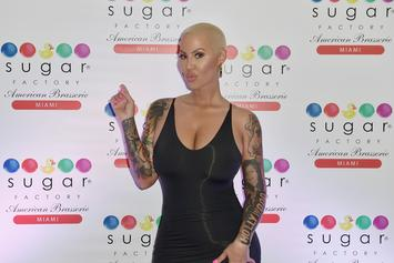 Amber Rose Defends Forehead Tattoo