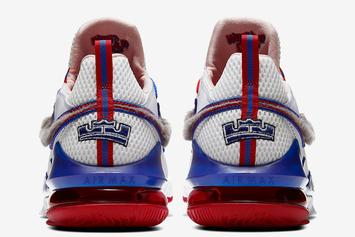 "Nike LeBron 17 Low ""Tune Squad"" New Release Date Revealed"