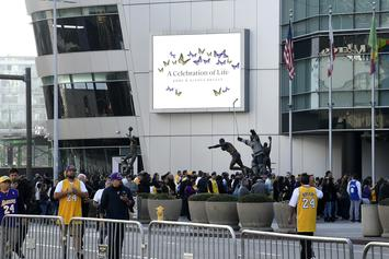 Kobe & Gianna Bryant Memorial: All The Attendees