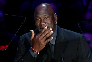 Michael Jordan References Crying Meme In Tearful Kobe Tribute