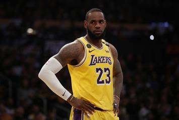 Lakers' LeBron James To Miss Warriors Game Due To Injury