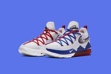 "Space Jam x Nike LeBron 17 Low ""Tune Squad"": Purchase Links"