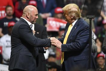 Dana White Defends His Undying Love For Donald Trump