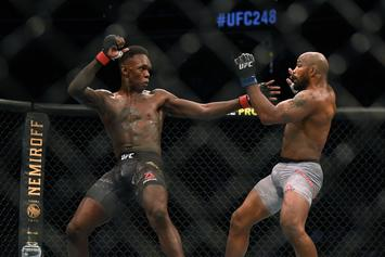 UFC 248: Fans Underwhelmed By Adesanya & Romero Main Event
